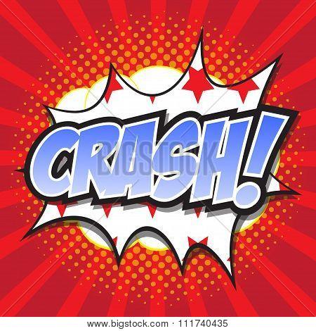 CRASH! wording sound effect