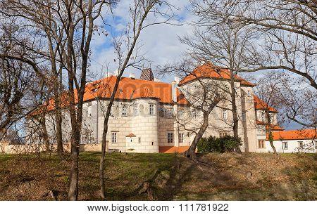 Brandys Nad Labem Castle (xiv C.), Czech Republic