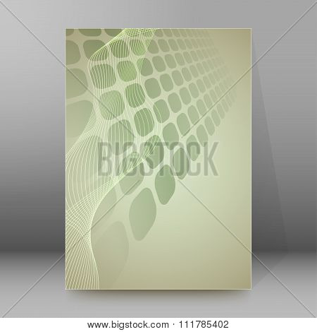 Business Report Background Brochure Cover Page Layout
