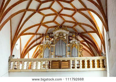 Fortified Church In Prejmer, Romania.