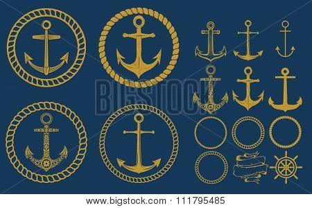 Anchor Labels Set