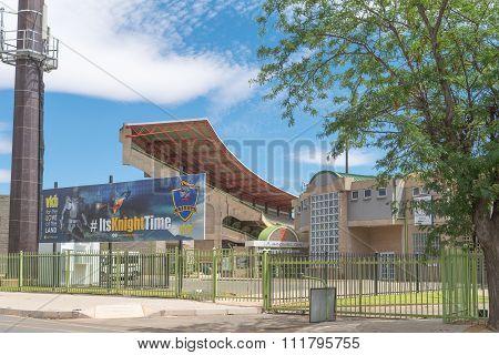 Mangaung Oval Or Cricket Stadium In Bloemfontein