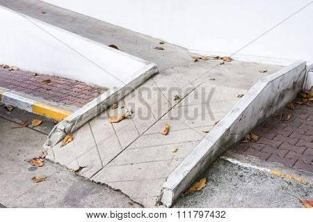 Small Concrete Ramp