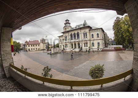 TARGU-JIU, ROMANIA-OCTOBER 08: