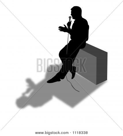 Speech Silhouette
