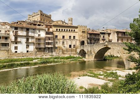 View Of Valderrobres, Teruel, Aragon Community, Spai