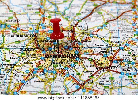 Birmingham in England