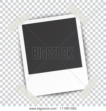 Retro blank photography