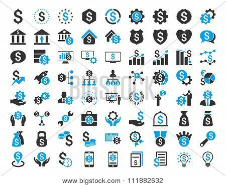 Financial Business Icon Set