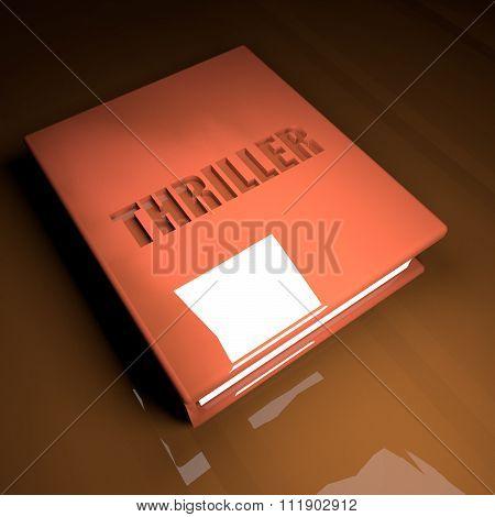 Thriller Book, 3D