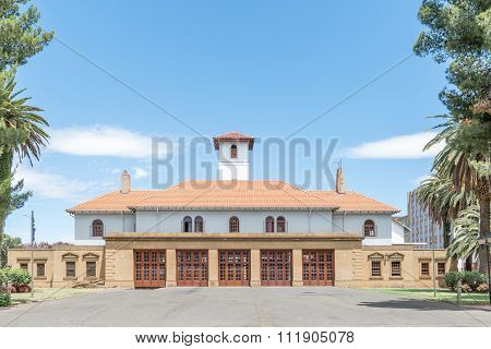 Main Fire Station In Bloemfontein