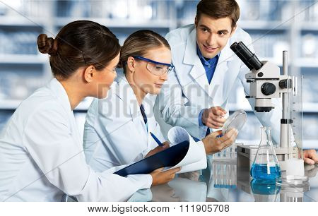 Laboratory Scientists.