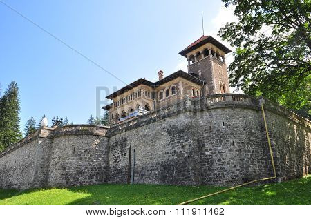 view of Cantacuzino Castle