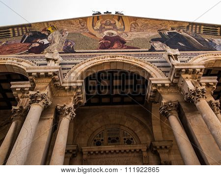 The Church Of All Nations Also Known As The Basilica Of The Agony. It Is A Roman Catholic Church Loc