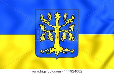 Flag Of Hagen (north Rhine-westphalia), Germany.
