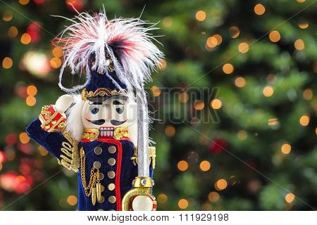 Beautiful And Colorful Holiday Nutcracker Ornament Decoration