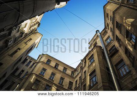 Urban Draw-well Yard In Petersburg