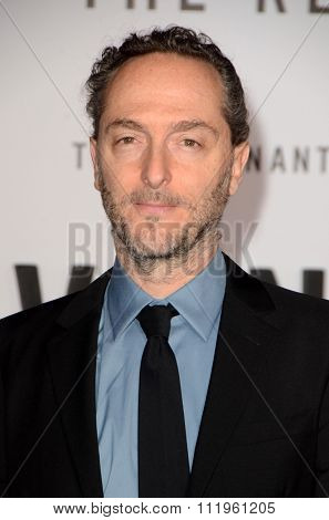 LOS ANGELES - DEC 16:  Emmanuel Lubezki at the The Revenant Los Angeles Premiere at the TCL Chinese Theater on December 16, 2015 in Los Angeles, CA