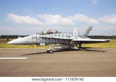 F-18 Hornet Swiss