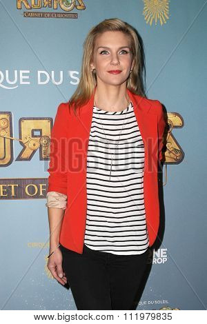LOS ANGELES - DEC 09:  Rhea Seehorn at the Cirque Du Soleil's
