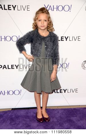 LOS ANGELES - DEC 14:  Giselle Eisenberg at the An Evening with