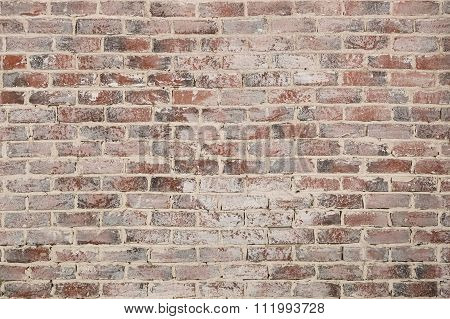 Vintage Red Brick Wall Texture