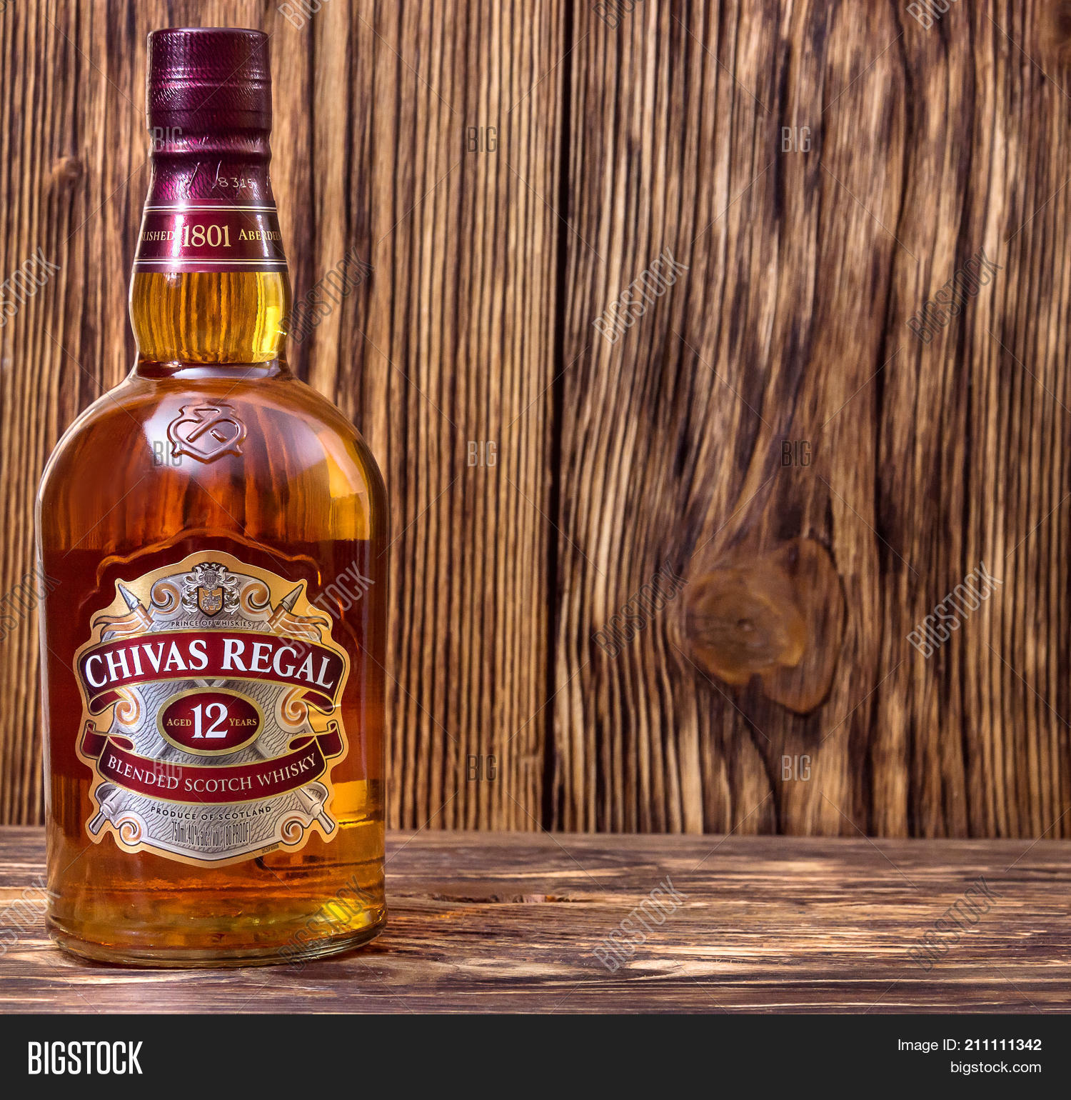 Ternopil ukraine august 26 2017 image photo bigstock ternopil ukraine august 26 2017 bottle of blended scotch whisky chivas regal 12 voltagebd Images