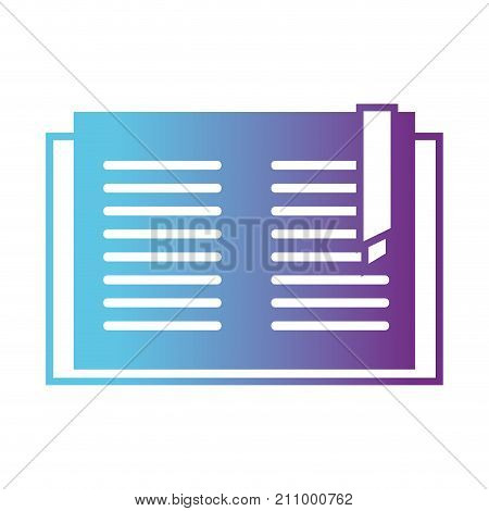 line education book object to learn and study vector illustration