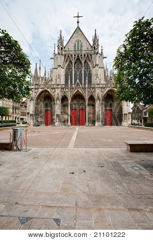 Saint-urbain Basilica In Troyes, France