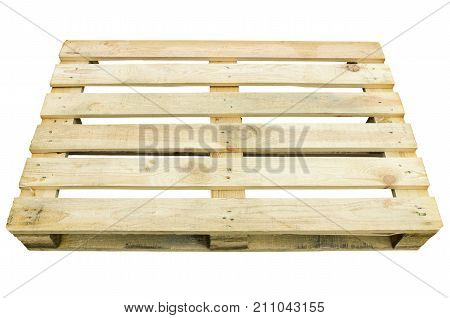 Wooden pallet for storage and transportation of goods