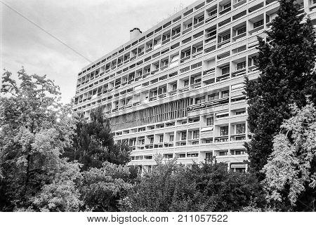 Unite D Habitation In Marseille, Hdr