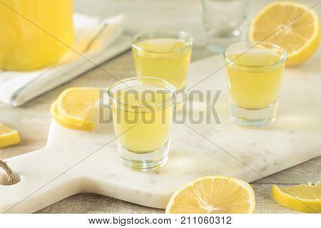 Sweet Homemade Lemon Limoncello