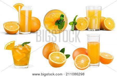 Fresh orange juice close up orange juice non alcoholic orange drink