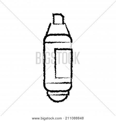 figure highlighter pen design to important document information vector illustration