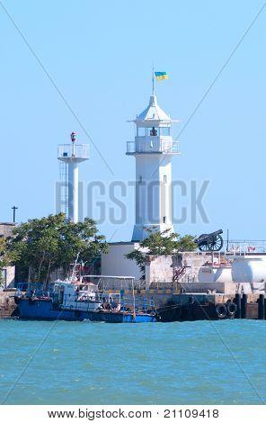 Small Beacon In A Sea Gulf