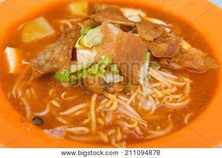 Asian Noodle, Mee Jawa Dish