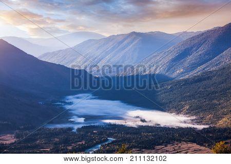 mountains in Kanas of China