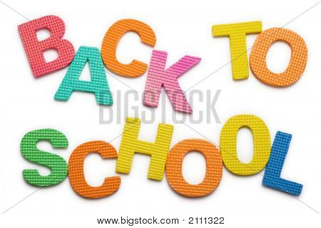 Words Back To School