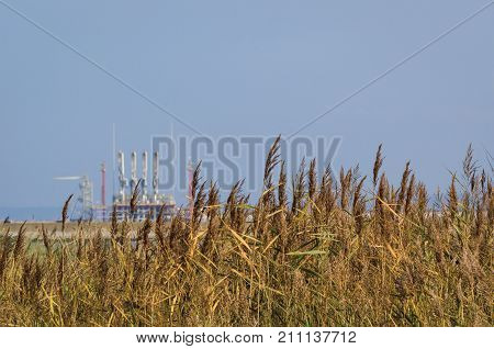 LNG TERMINAL - Landscape of West Pomerania in Poland