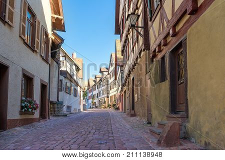 Cityscape - Black Forest. A small medieval town in the Black Forest.