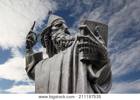 Gregory Of Nin Statue In Split, Croatia