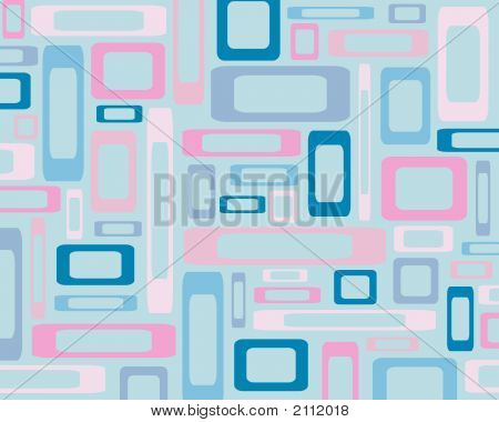 Blue And Pink Rectangles Copy