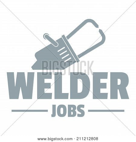 Welder logo. Simple illustration of welder vector logo for web