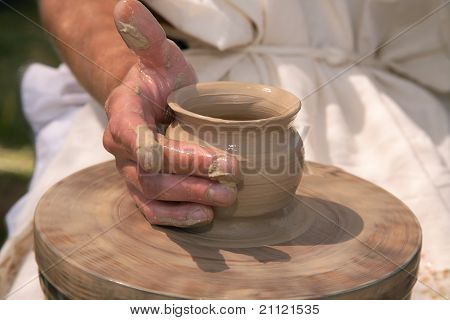 Hands Of The Potter