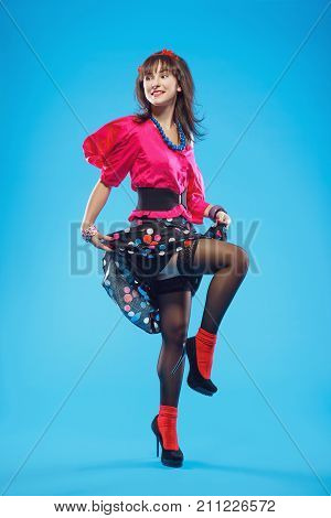Pin-up Girl Dancing