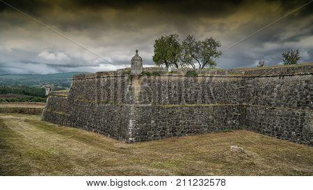 Fortaleza of Valenca, highlight along the Camino de Santiago trail, Portugal