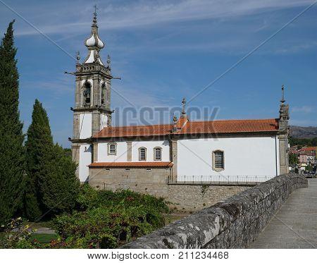 Igreja de Santo Antonio da Torre Velha, Ponte de Lima, Camino de Santiago, Portugal