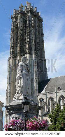 Margaret of Austria and Saint Rumbold