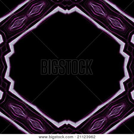 Abstract illustrated powerful glass background design object poster