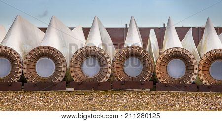 Spare Wind Turbine Blades